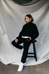 Influencer and entrepreneur Rozalia Russian flipped from ready-to-wear to tracksuits in the pandemic.