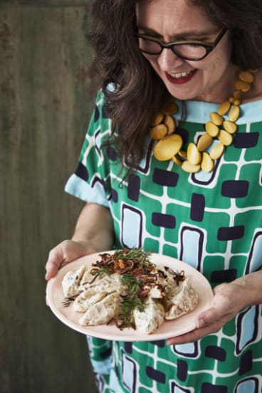 Annabel Crabb serves up some pierogi russki from Special Guest.