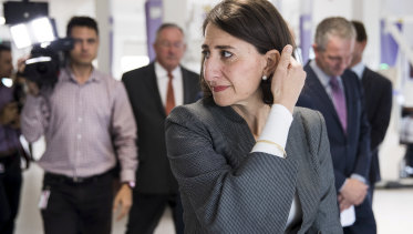 Premier Gladys Berejiklian tried to spoil Labor's launch with an announcement about Nepean Hospital.
