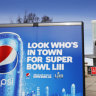 Pepsi's cheeky Super Bowl tease on Coca-Cola's home turf