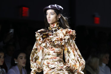 Zimmermann at New York Fashion Week in February. The brand is a big mover on The Outnet.