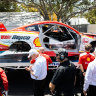 Disaster for McLaughlin as he crashes in qualifying, out of Gold Coast 600