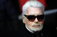 Karl Lagerfeld, pictured in November, has died at age 85.