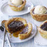 Adam Liaw's muffin pan flans, and rum, raisin and butter tarts