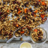 Helen Goh's puffed rice, pecan and maple granola