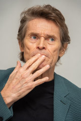 Willem Dafoe says his character farts to show his dominance.