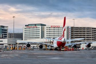 The Rydges Sydney Airport Hotel has been listed for sale with a price tag of$250m-$270m.