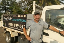 Brett Beuzevilleis a Master Builder and owner of StepUP Constructions.