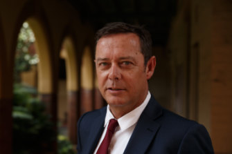 Principal of All Saints College Maitland, Tim Cleary.