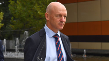 CBA's Clive van Horen gave evidence at the banking royal commission on Tuesday.
