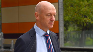 CBA's Clive van Horen was quizzed at the banking royal commission on Tuesday.