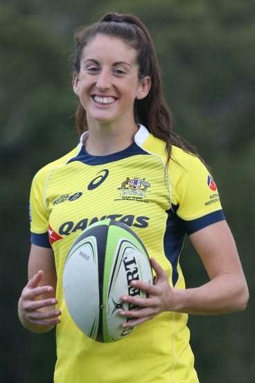 Australian rugby sevens player Alicia Quirk.