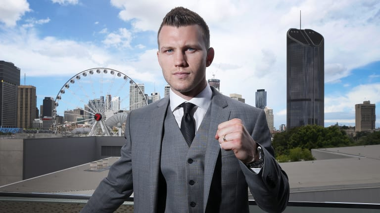 Jeff Horn would prefer to fight in Las Vegas over New York, according to trainer Glenn Rushton.