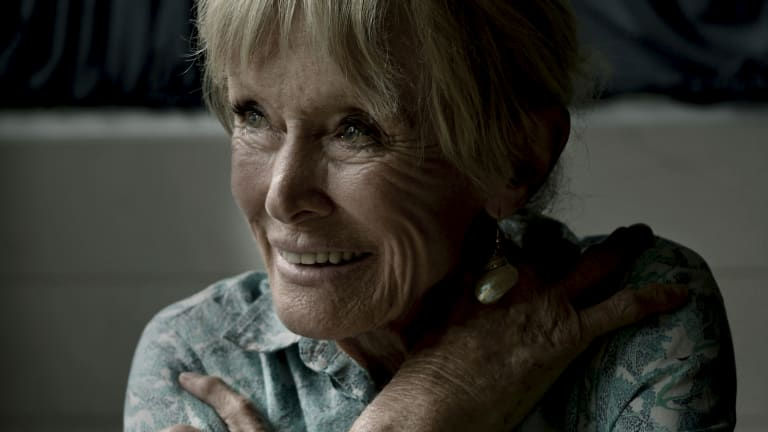 Pioneering Australian underwater photographer Valerie Taylor.