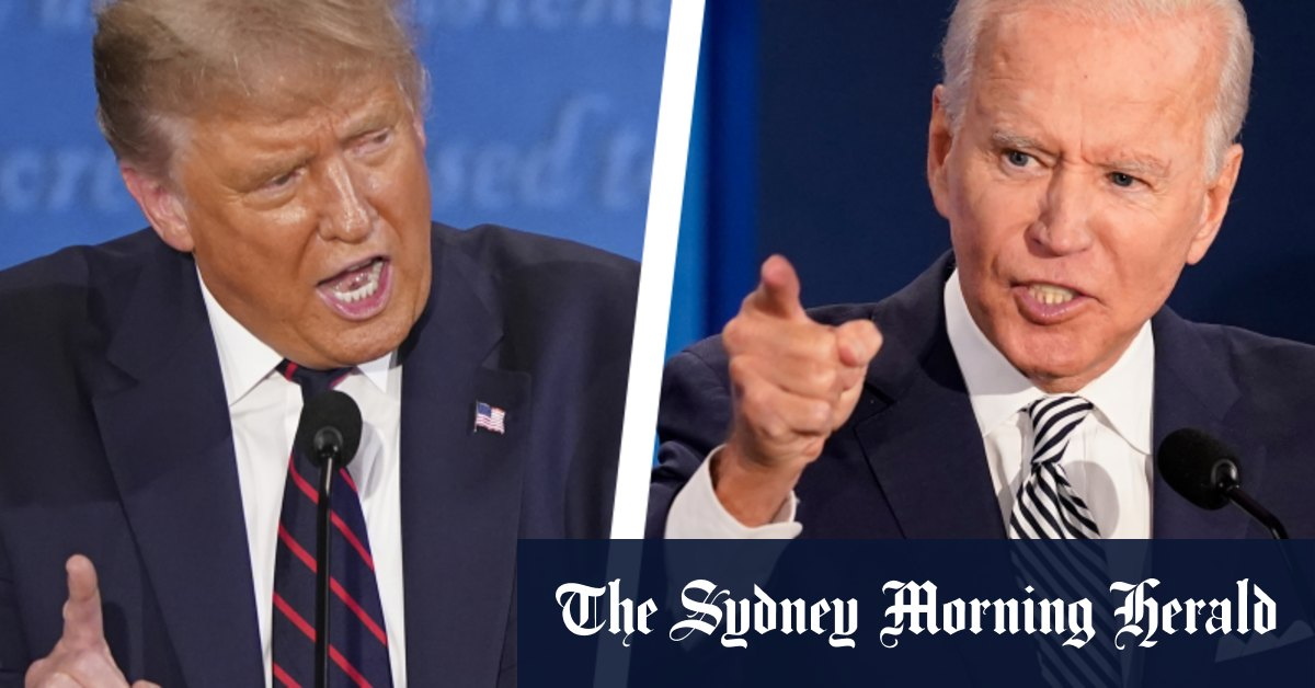 'Too hot': How Trump's hostile debate gambit backfired – Sydney Morning Herald