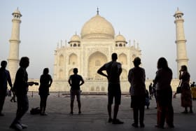 Off white: Why the stunning Taj Mahal is starting to turn green