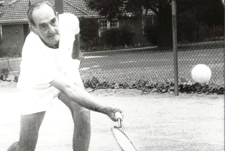 Thomas 'Charlie' Boag was described as a Canberra tennis icon.