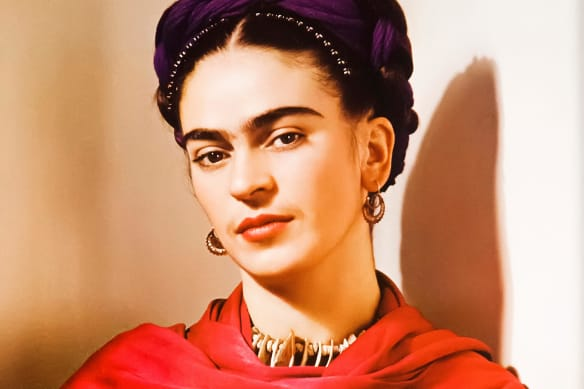 Frida Kahlo Barbie's airbrush with disaster