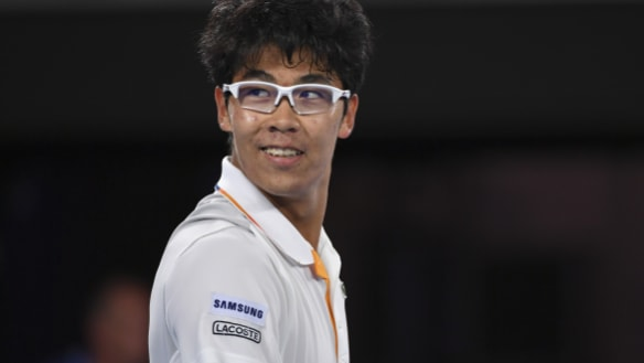 Australian Open 2018: Who is 'truly incredible' newcomer Hyeon Chung?