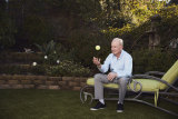 """Rod Laver: """" It took a unique lady to be with me, considering how much I was competing."""""""