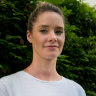 Gabrielle Pluis who works as a mental health support worker in western Sydney.