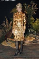 Julie Bishop wearing Perth-based designer Meraki.