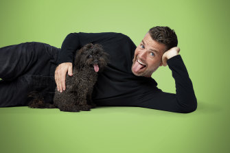 Pete Evans has found a large audience interested in conspiracy theories.