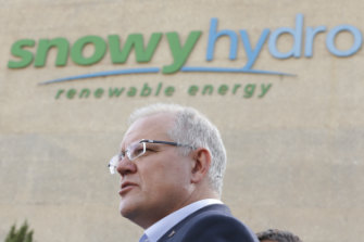 Prime Minister Scott Morrison says the Marinus link and Snowy 2.0 projects will help make energy more reliable and affordable.
