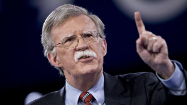 John Bolton, a former US ambassador to the United Nations, would tear up the international agreement with Iran on nuclear power.