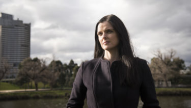 Amber Harrison has been at the centre of a long-running dispute with Seven.