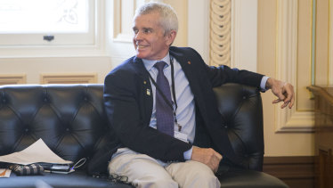 One Nation Senator Malcolm Roberts hosted a cost-of-living summit at Queensland Parliament on Friday.