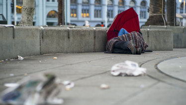 San Francisco's homelessness problem has been likened to developing nation cities.