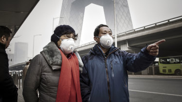 One threat to China's future is environmental degradation.