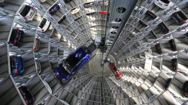 Volkswagen and other German car makers are accused of rigging emissions tests.