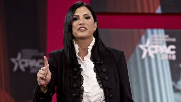 Dana Loesch, spokeswoman for the National Rifle Association, told a conservative conference that the media love mass shootings.