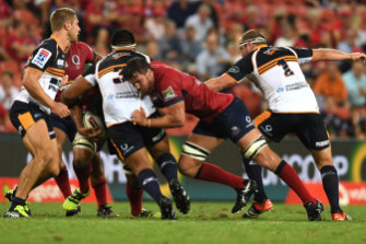 Bad trip: Brumbies fans would have been sorely disappointed with their side's trip to Queensland.