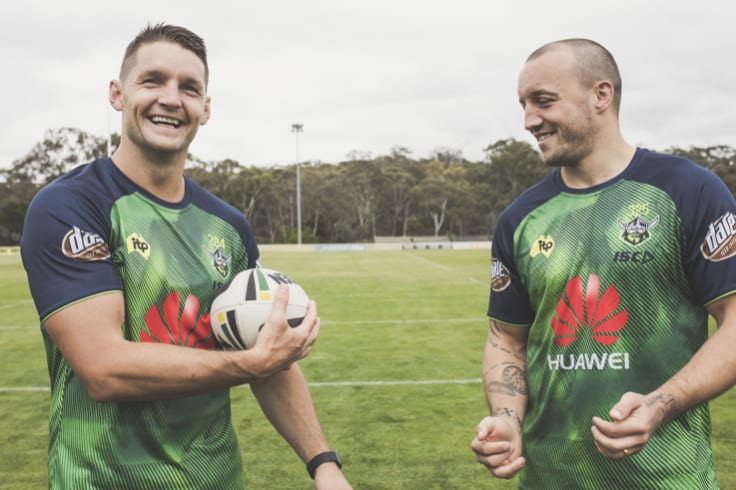 Luke Lewis says Raiders co-captains Jarrod Croker and Josh Hodgson are keys to Canberra's chances.