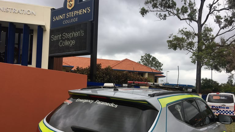 Paramedics attended Saint Stephen's College in Upper Coomera after several students fell ill from a drug overdose.