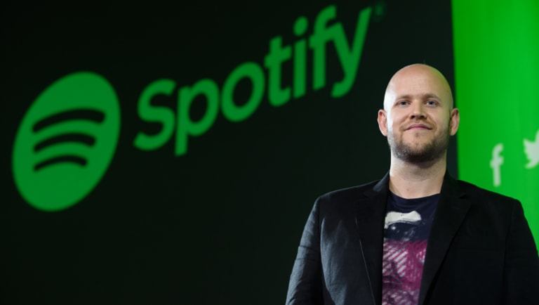 Daniel Ek, chief executive officer and co-founder of Spotify.