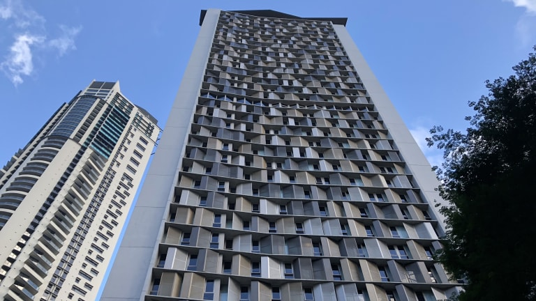 Student One, Wharf Street, is believed to be the world's tallest student accommodation tower.