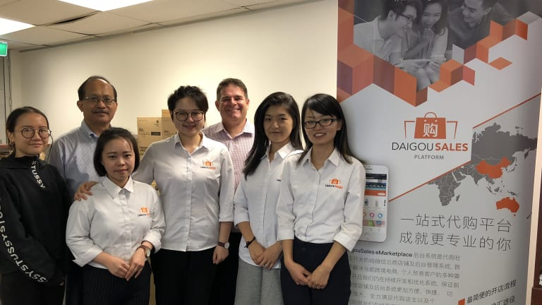 Diagou Sales has quickly outgrown its office.