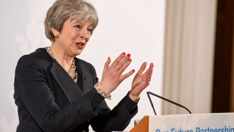British Prime Minister Theresa May is being asked to back a mine.