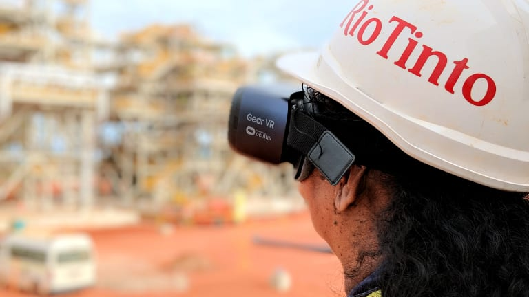 Rio Tinto is among the large businesses lobbying for lower company tax.