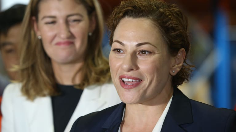 New Treasurer Jackie Trad has seized on the employment figures.