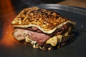 Melbourne's top 20 cheap eats for 2018 (including this flaming reuben)