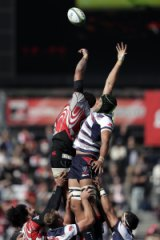 Rising up: Melbourne Rebels have eclipsed last season's win column with two wins from two matches.