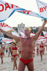 The Lifesavers with Pride celebrate 12 years of appearing at Mardi Gras.