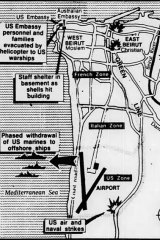 The situation in Beirut on February 8, 1984.
