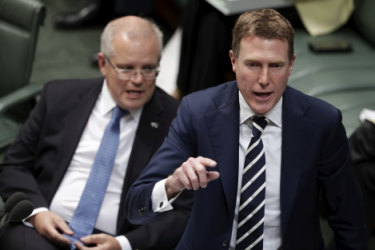 Attorney-General Christian Porter says journalists are not above the law.