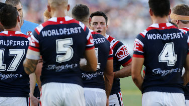 Leader: Cooper Cronk is keeping a low profile as he comes to grips with life at the Roosters.